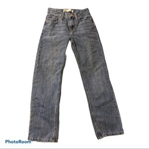 Levi's boys size 12 slim 550 relaxed jeans